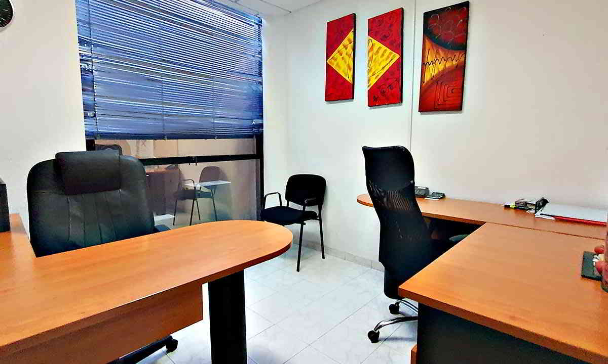 Oficina 7 del Auditorio Josefa Ortiz