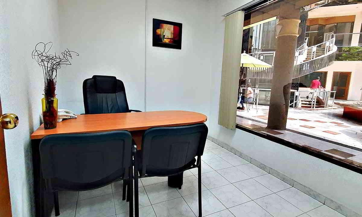 Oficina 8 del Auditorio Josefa Ortiz