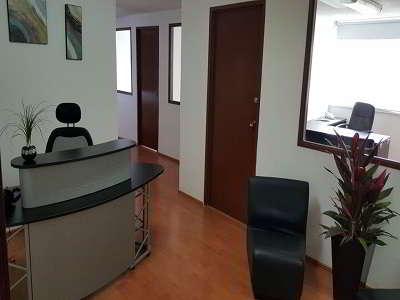 Recorrido virtual y vista 360 de recepción en Barranca del Muerto y Guadalupe Inn