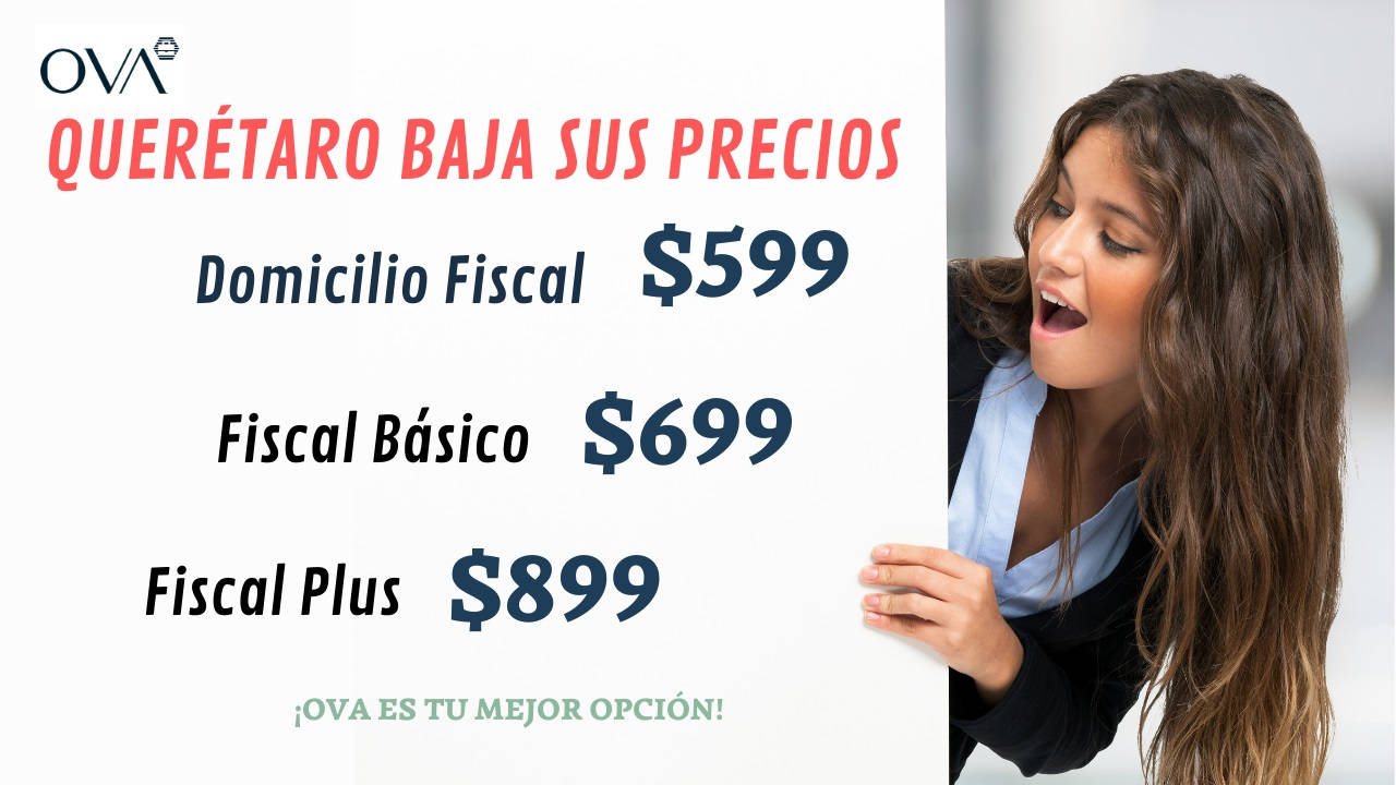 Nuevos precios Qro 2021